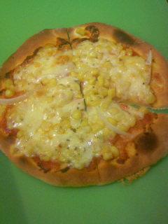 2月22日 手作りピザ